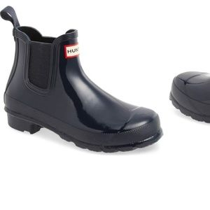Hunter Original Gloss Chelsea rain boot